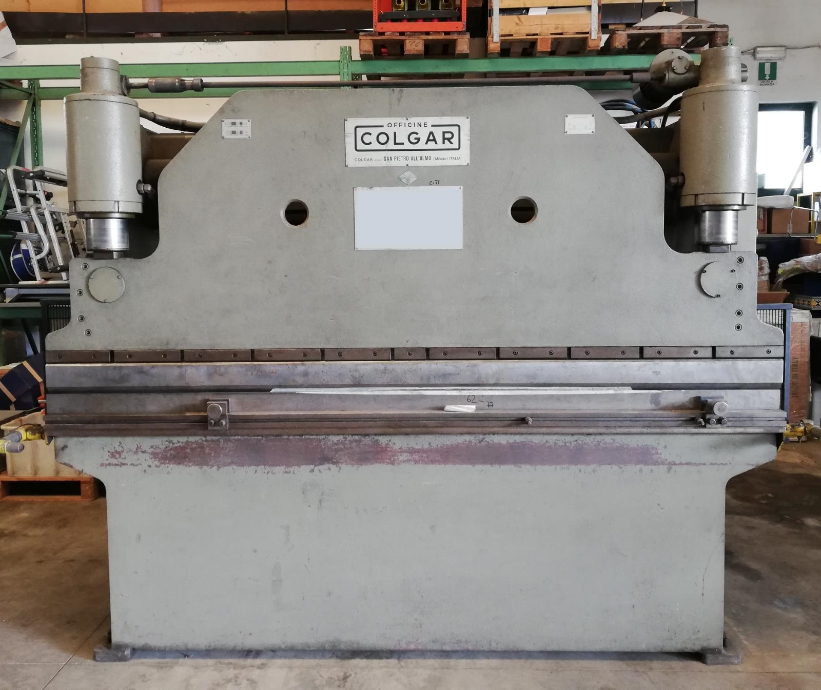 Pressa piegatrice COLGAR 2600 MM/60 Ton
