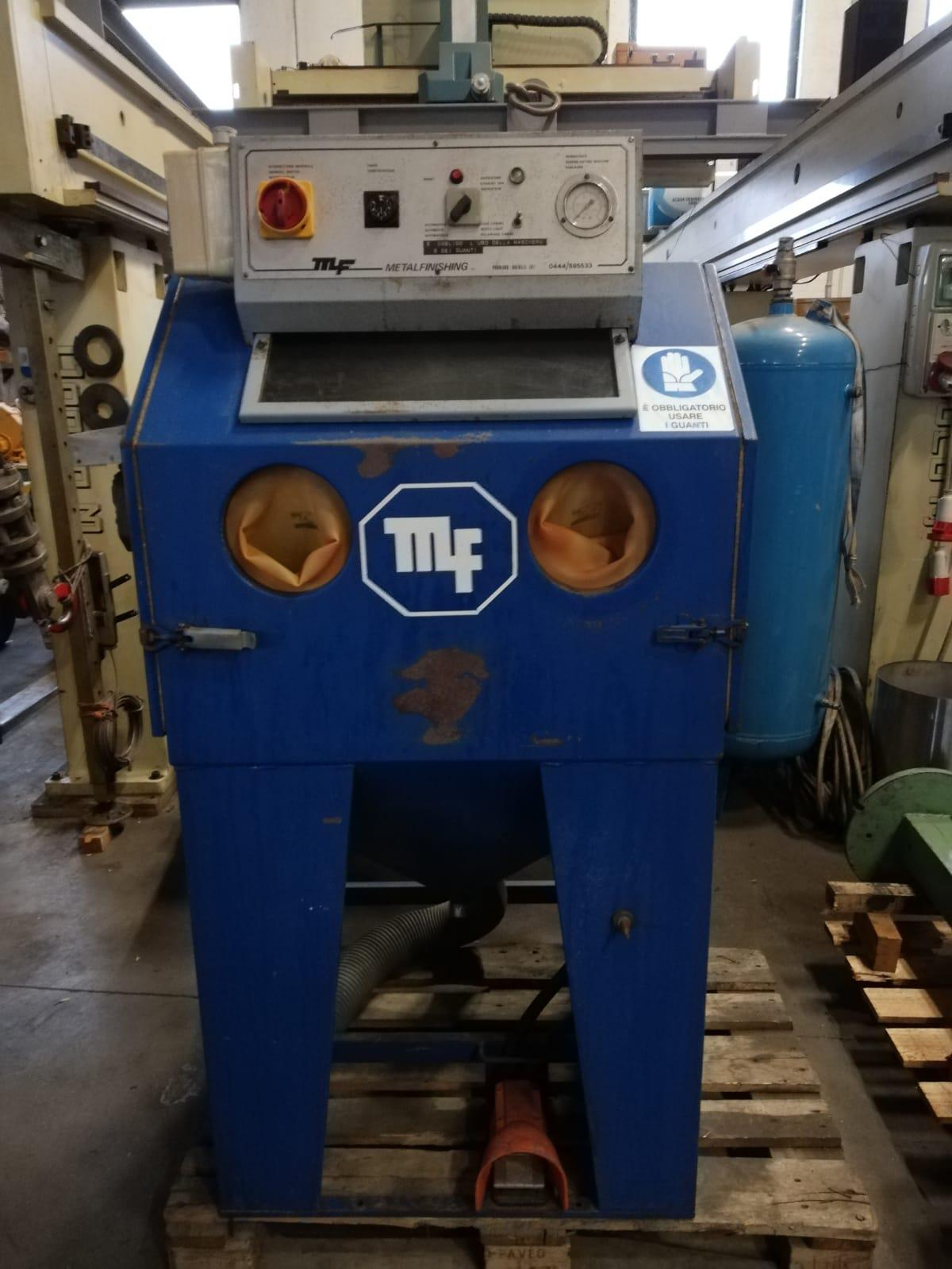 Sabbiatrice MF - Metalfinisching