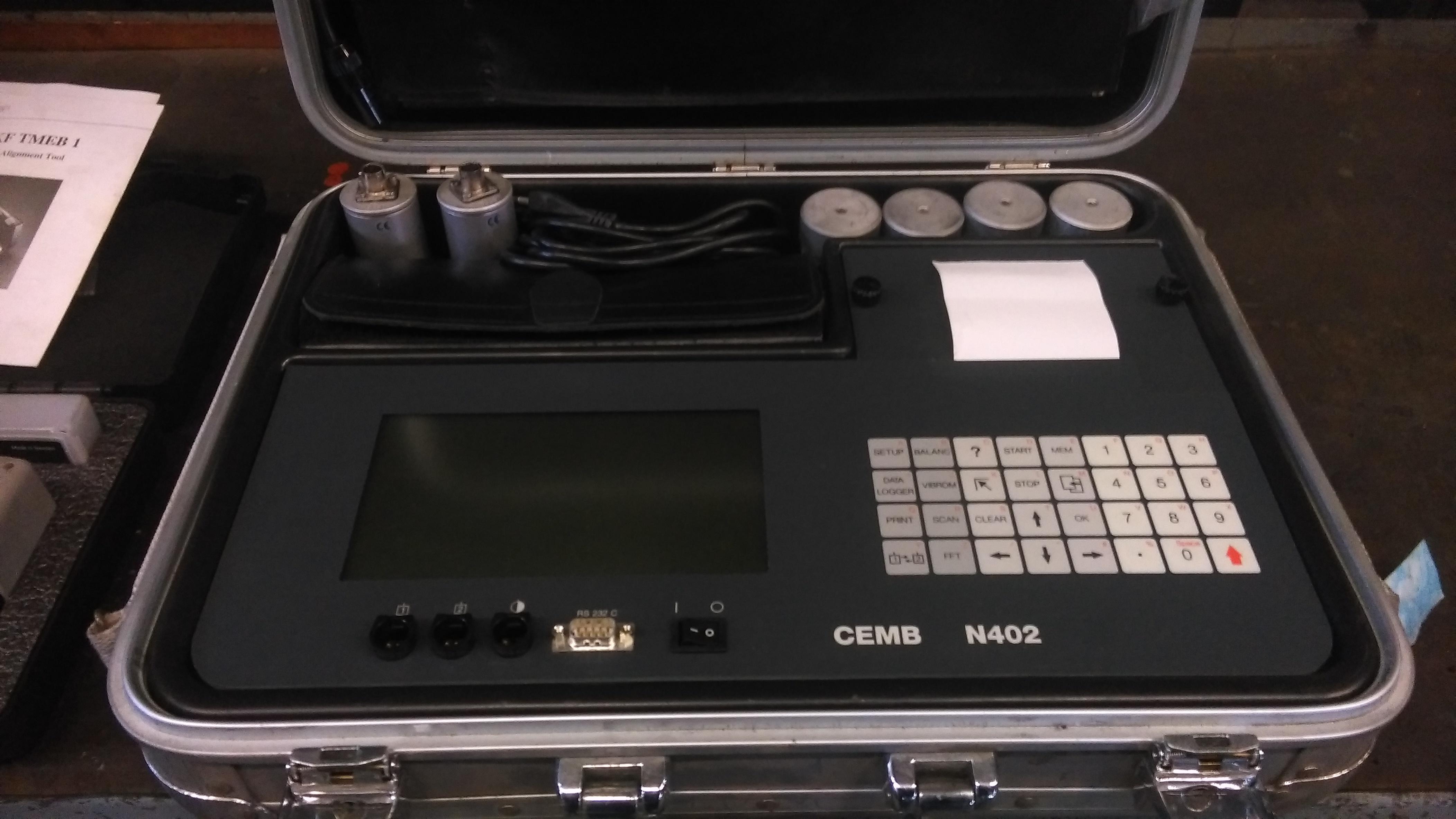 Equilibratrice portatile CEMB