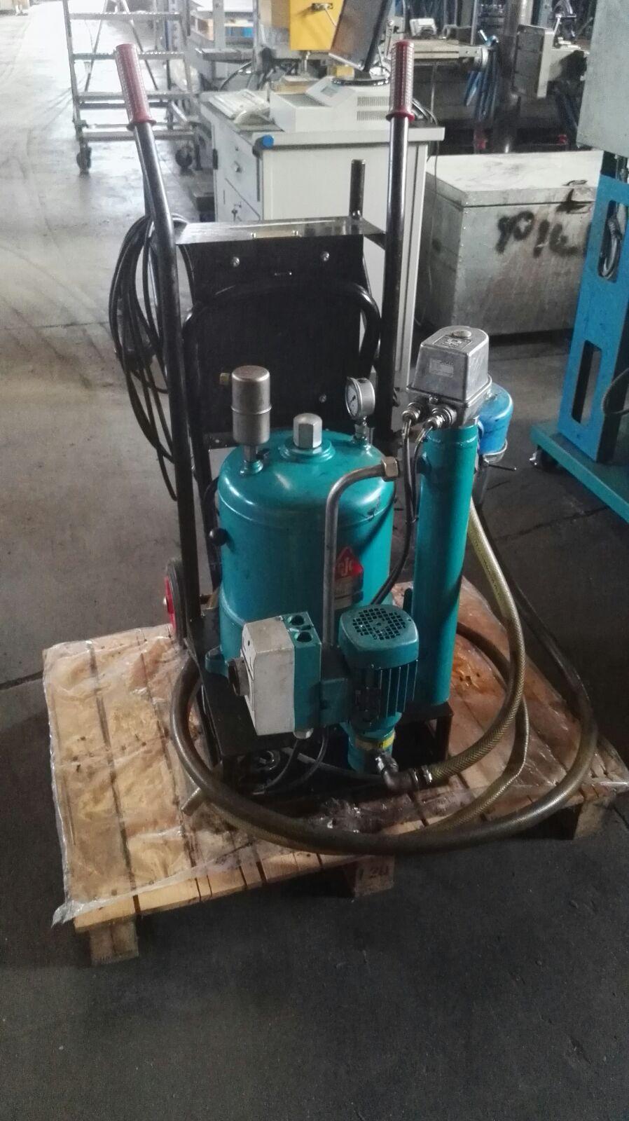 Pompa aspira/filtra olio C.C JENSEN