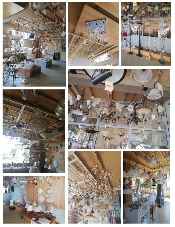 Stock di lampadari (Articoli pronti alla vendita)